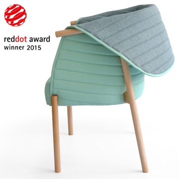Muka design lab red dot award 2015 for Chair design awards